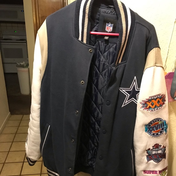 sports shoes 93d29 a3e97 Novelty Dallas Cowboys jacket